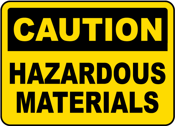 مواد خطيرة