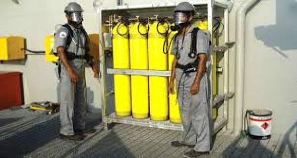 المستوى الاول H2S اختبار اذن الغاز