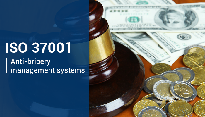 Implementation of the ISO 37001: 2016 anti-bribery management system