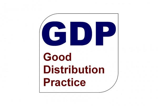 GDP ممارسات التوزيع الجيدة